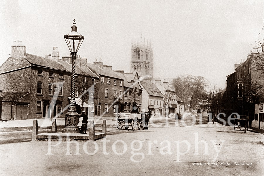 Vintage photo of Burton Road