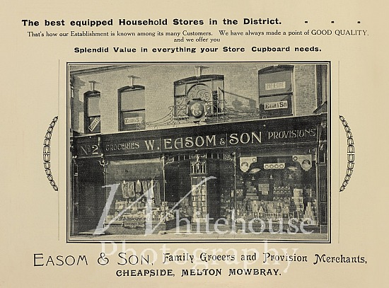 W Easom & Son Coronation advert