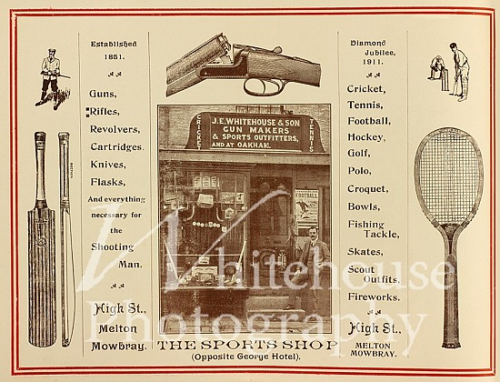 Sport and Gun Shop Coronation advert