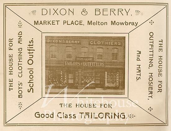 Dixon & Berry Coronation advert