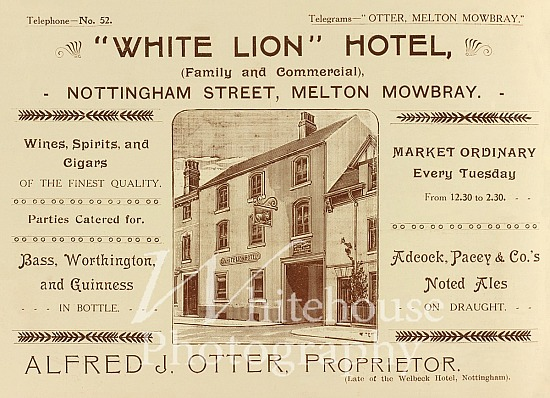 White Lion Coronation advert