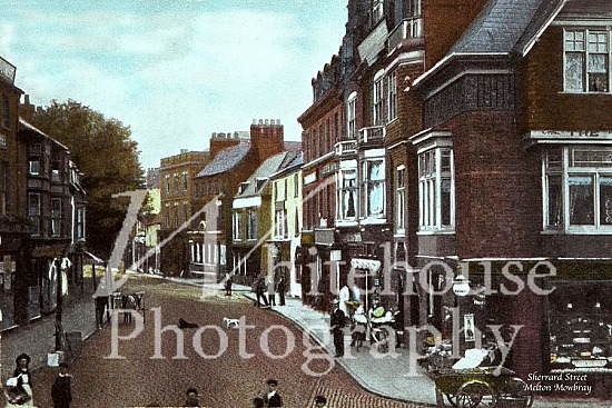 Vintage photo of Sherrard Street